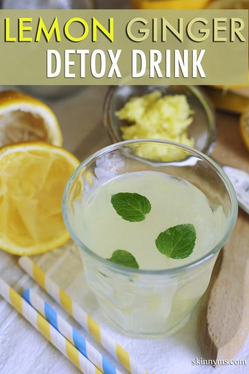 20 köstliche Detox-Wasser, um Ihren Körper zu reinigen und Fett zu verbrennen