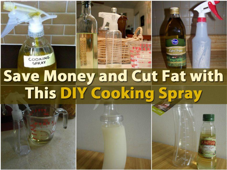 Sparen Sie Geld und schneiden Sie Fett mit diesem DIY Kochen Spray Rezept