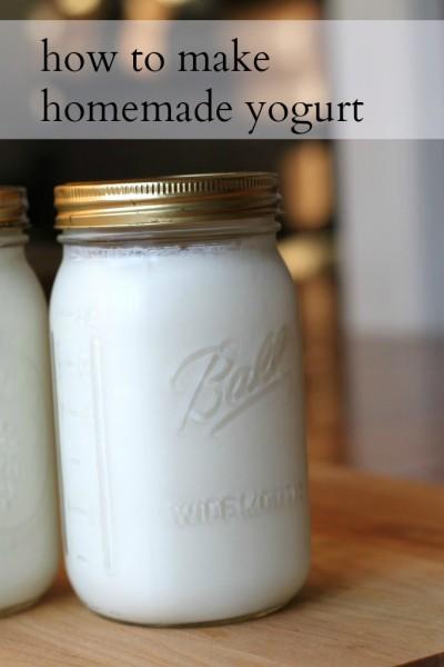 Yummy Homemade Joghurt - einfach und erschwinglich DIY für die Küche