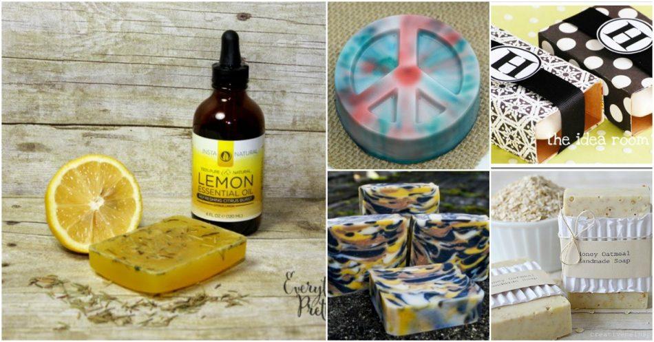 35 handgemachte Seifen, die Stil und Schönheit in jedes Badezimmer bringen