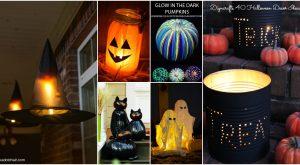 40 einfach zu DIY Halloween Dekor Ideen zu machen