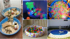 20 brillant kreative Möglichkeiten, diese alten Kiddie Pools wiederzuverwenden