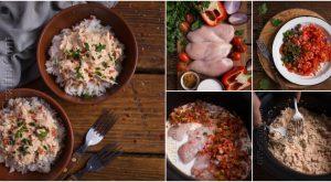 Dieses Salsa Huhn ist eine gesunde Alternative zum traditionellen mexikanischen Essen