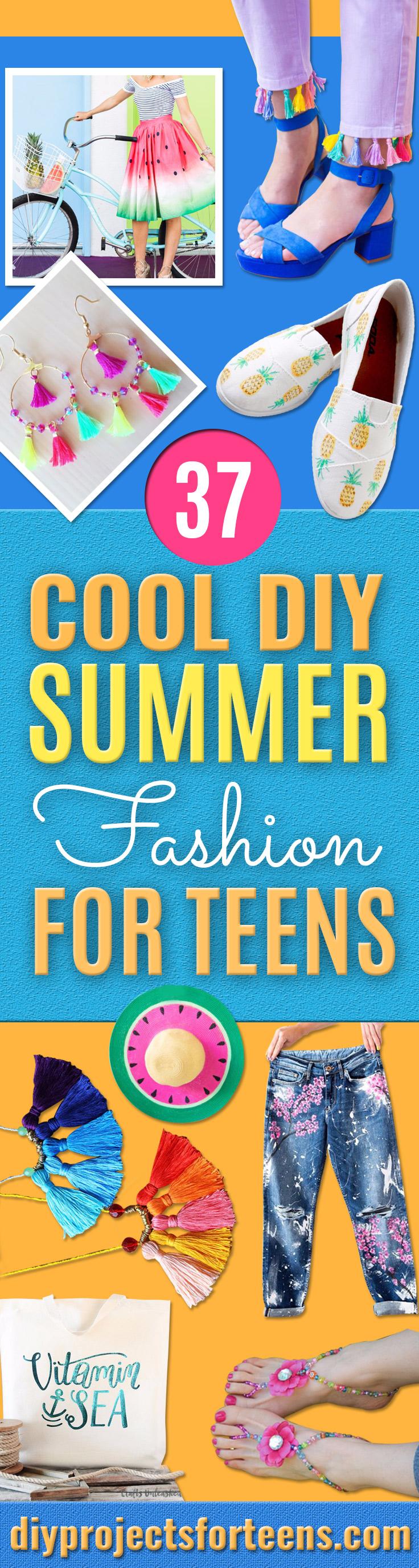 37 DIY Sommermode für Teens