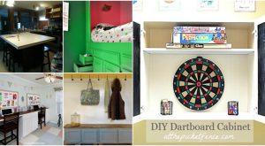 10 fabelhafte Repurposed Ideen für alte Küchenschränke