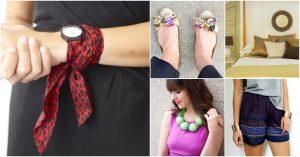 30 Brilliant Repurposed Ideen für alte Schals, die Sie fast kostenlos machen können