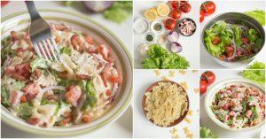 Köstliche BLT Pasta Salat So gut Ihre Gäste werden für das Rezept bitten