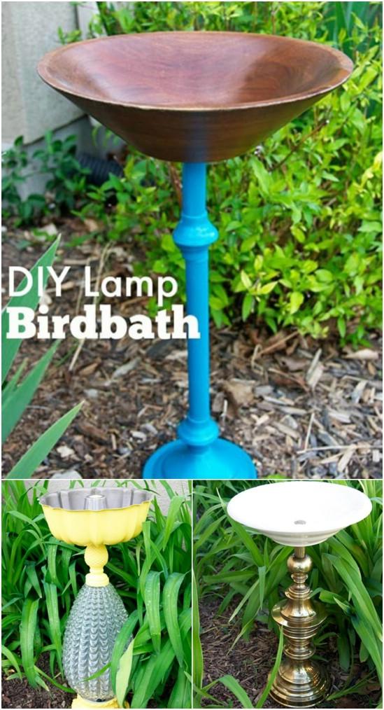 20 phantastische Lampe Repurposing Ideen, um Stil zu Ihrem Haus und Garten hinzuzufügen
