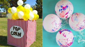 32 coole Ballonparty-Dekor-Ideen