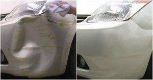 Zwei einfache Techniken, um eine Auto Dent KOSTENLOS zu reparieren {Jeder kann es tun}