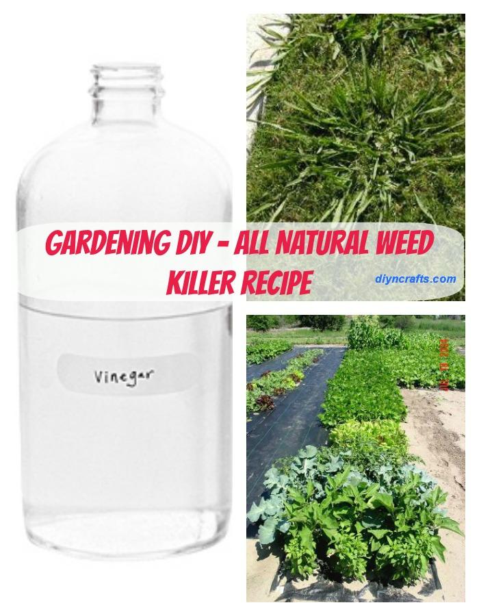 Gartenarbeit DIY - eine sichere und natürliche Möglichkeit, Garten-Unkraut zu befreien
