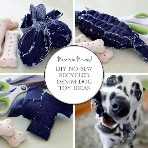 25 Frugally Fun DIY Hundespielzeug, um Ihr Hündchen zu verwöhnen
