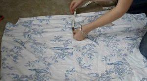 Wie man ein altes Bett-Blatt in ein schönes Maxikleid umdreht
