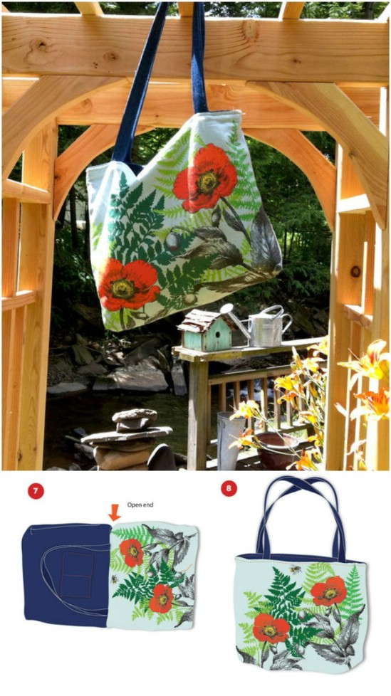 60 wunderschöne DIY-Tragetaschen mit kostenlosen Mustern für jeden Anlass