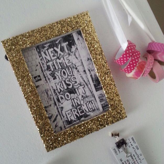 35 DIY Ideen mit Glitzer