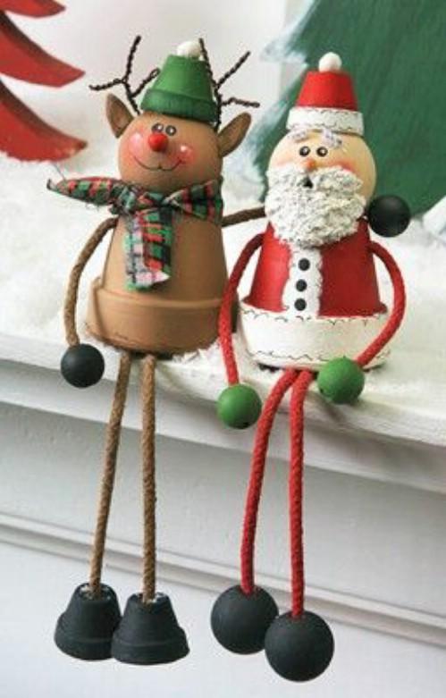 20 DIY Tontopf Weihnachtsschmuck, die Charme zu Ihrem Urlaub Dekor hinzufügen