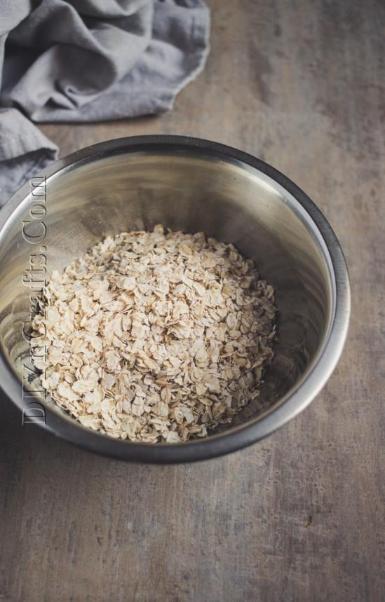 Köstliche und nahrhafte Haferkeks sind in nur 15 Minuten fertig