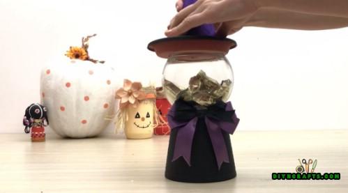 Wie man 5 gruselige DIY Halloween-Handwerk in weniger als 5 Minuten macht