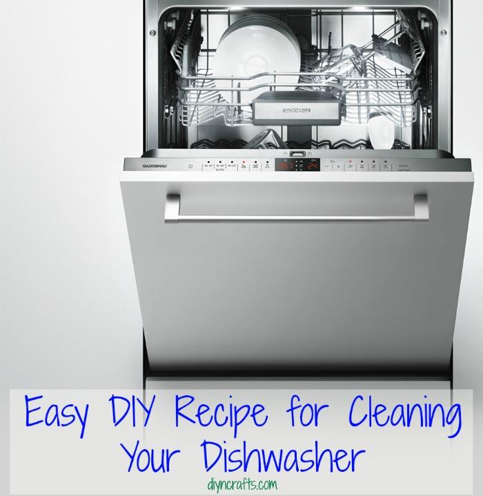 Einfaches DIY-Rezept für die Reinigung Ihres Geschirrspülers