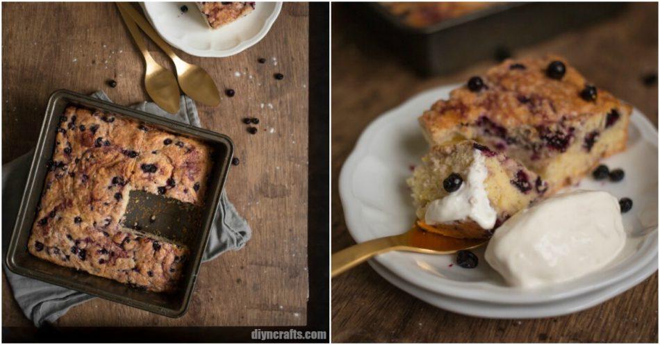 Einfach und lecker Blueberry Pie Just wie Oma macht es