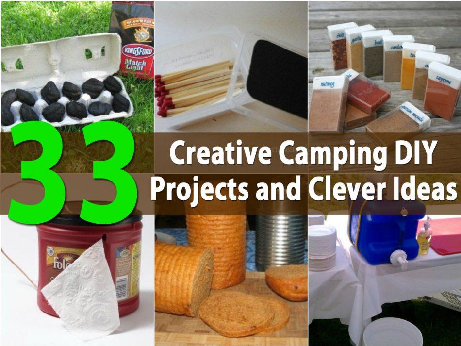Top 33 kreativste Camping-DIY-Projekte und clevere Ideen