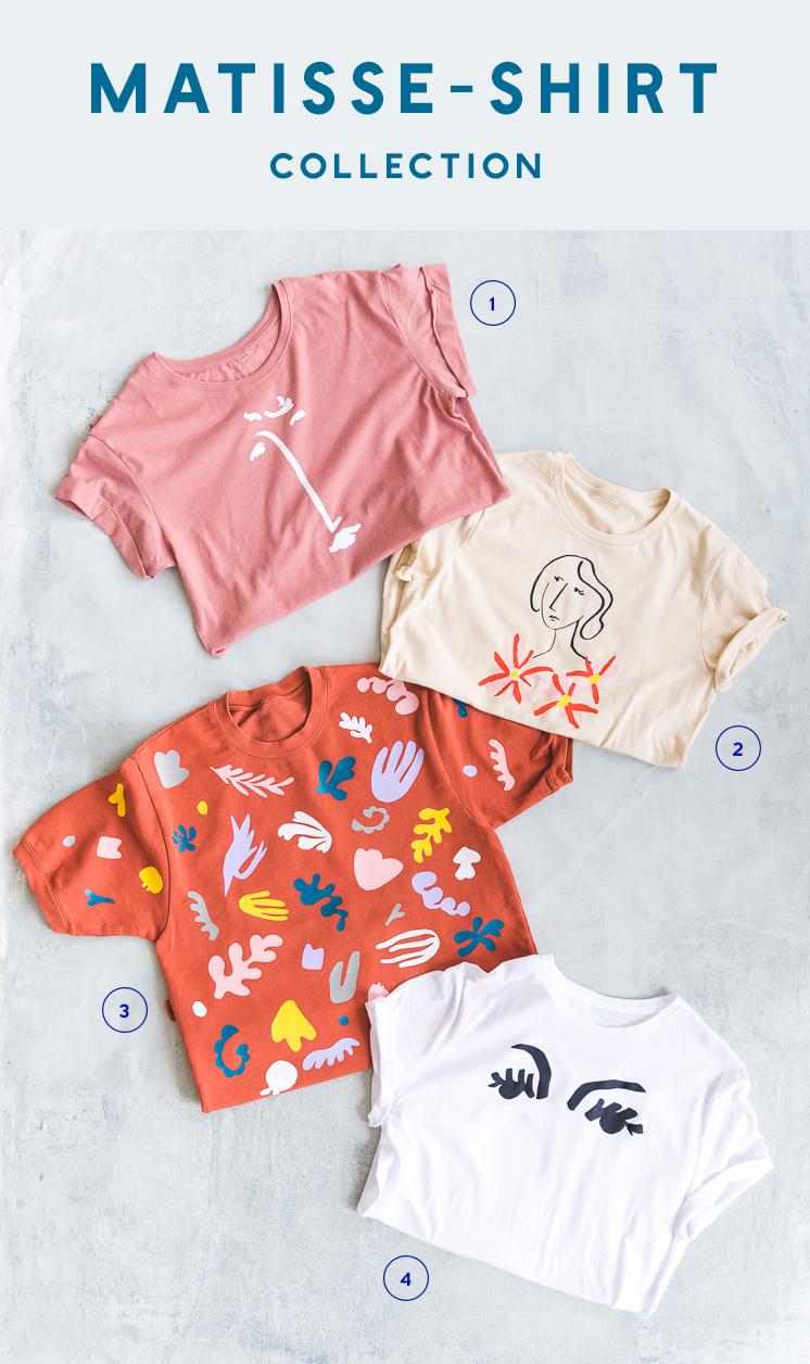 Lars Matisse-Shirt-Kollektion