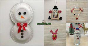 5 einfach zu Weihnachten Handwerk aus normalen Lieferungen