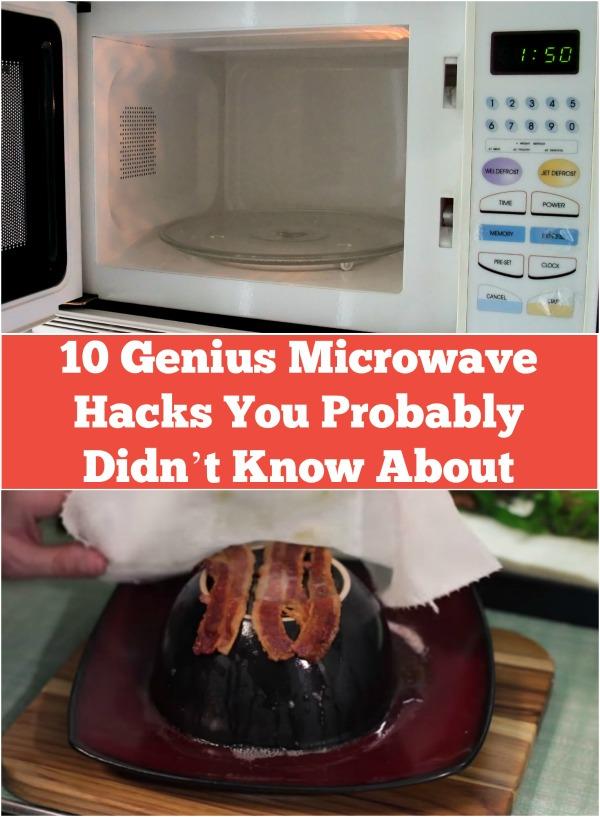 10 Genius Mikrowellenhacks, von denen du wahrscheinlich noch nichts gewusst hast