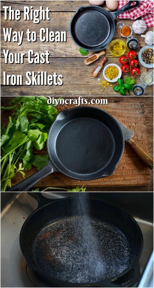 Hier ist der richtige Weg, Ihre Cast Iron Skillets zu reinigen