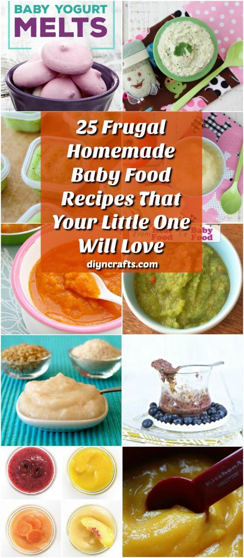 25 Frugal hausgemachte Babynahrung Rezepte, die Ihre Kleinen lieben wird