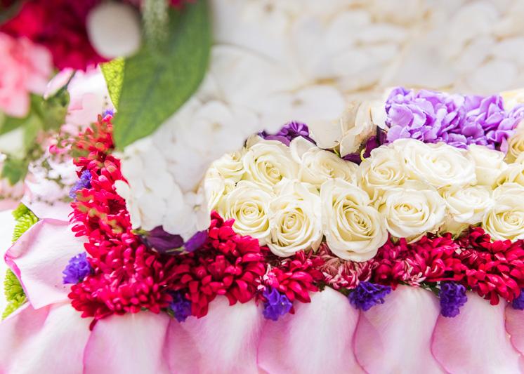 Rose Parade Tischlandschaft