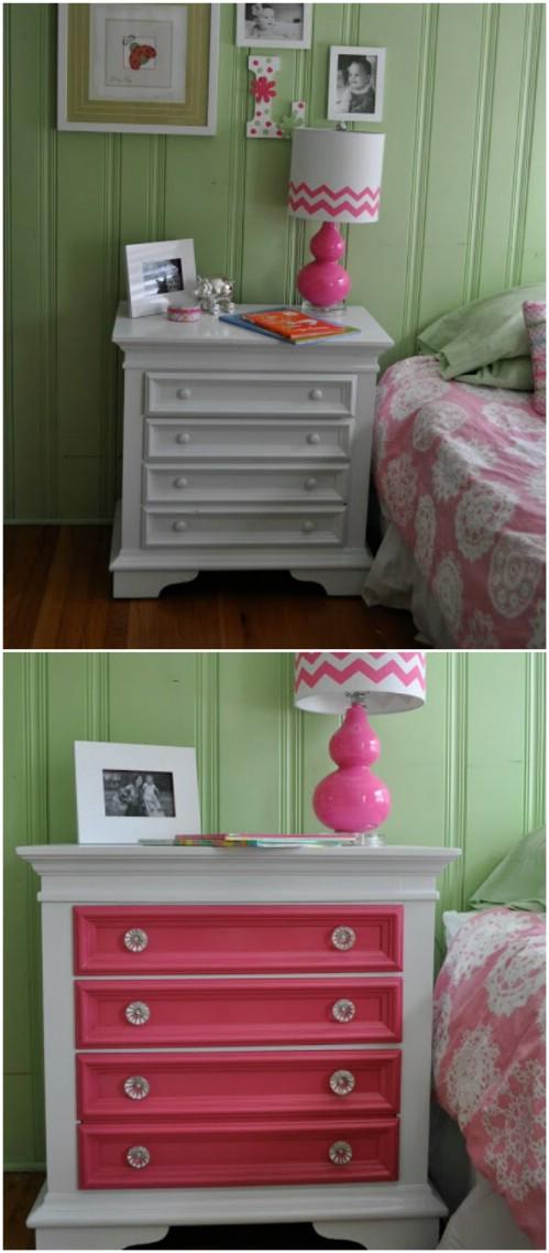 25 Schöne Möbel Makeover Ideen mit Farbe