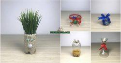 5 kreative DIY-Projekte zum Upcycling deiner Plastikflaschen {Video Tutorial}