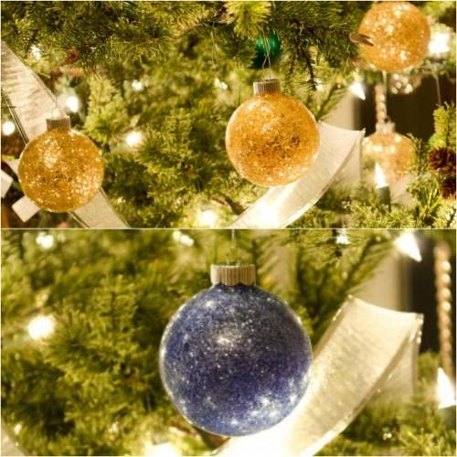 10 brillante und festliche Möglichkeiten Upcycle Broken Christmas Ornaments