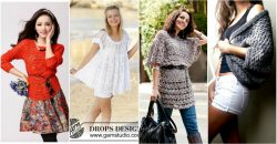 30 schöne Frauen Pullover und Tops, die Sie heute Nacht stricken oder häkeln können