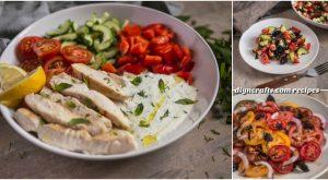3 lecker und einfach Sommer Salate vorzubereiten