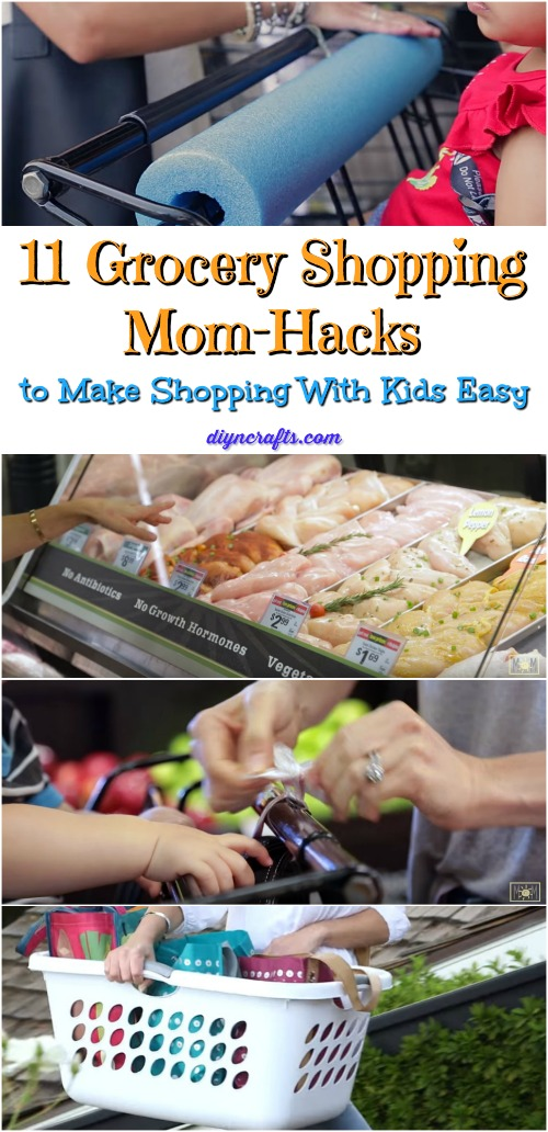 11 Lebensmittelgeschäft Einkaufen Mama-Hacks zum Einkaufen mit Kindern einfach