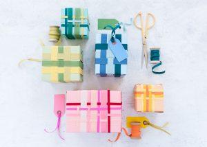 Band Weben Geschenkpapier