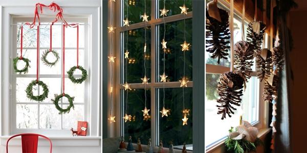 TOP 10 Helle und funkelnde Weihnachtsfenster Dekoration Ideen
