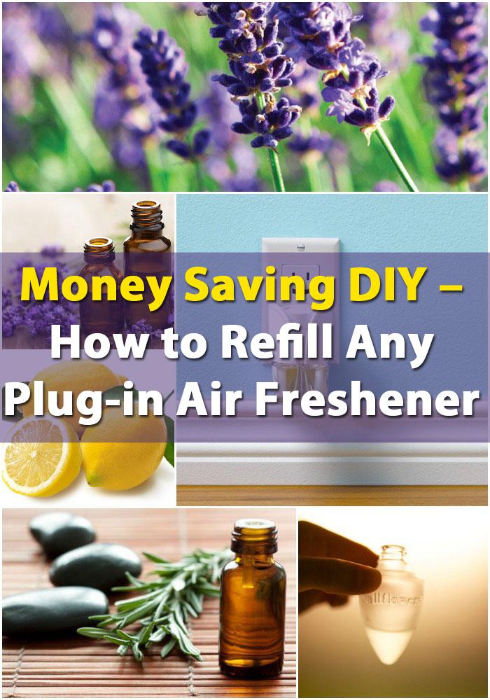 Money Saving DIY - Wie man jeden Plug-in Lufterfrischer auffüllt