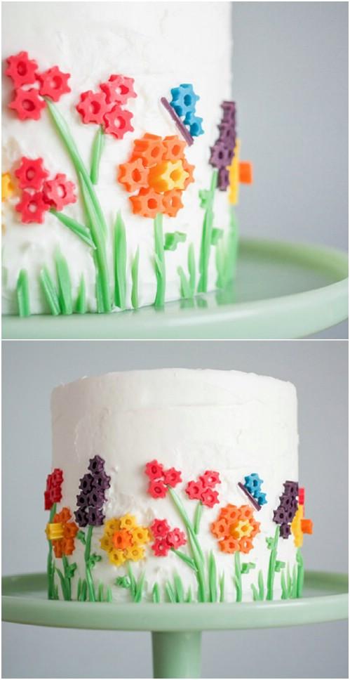15 Lebensmittelgeschäft-Kuchen-Hacks, die einen gewöhnlichen Kuchen in ein Kunstwerk verwandeln