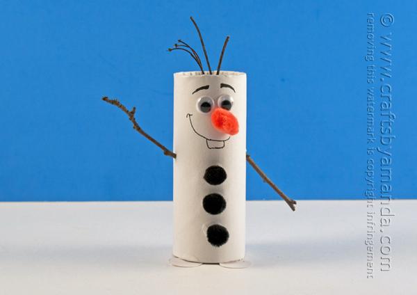 20 Weihnachtsdekorationen aus Toilettenpapierrollen