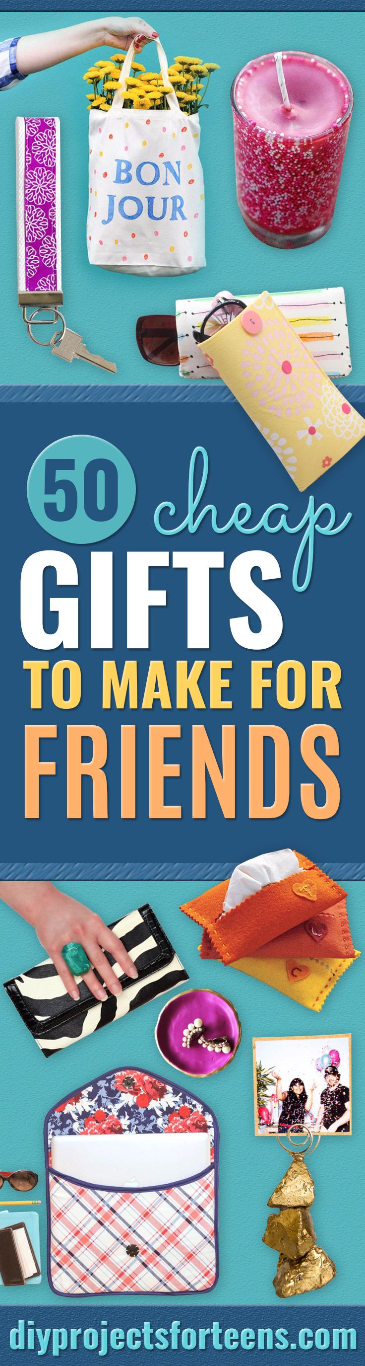 50 günstige Geschenke für Freunde