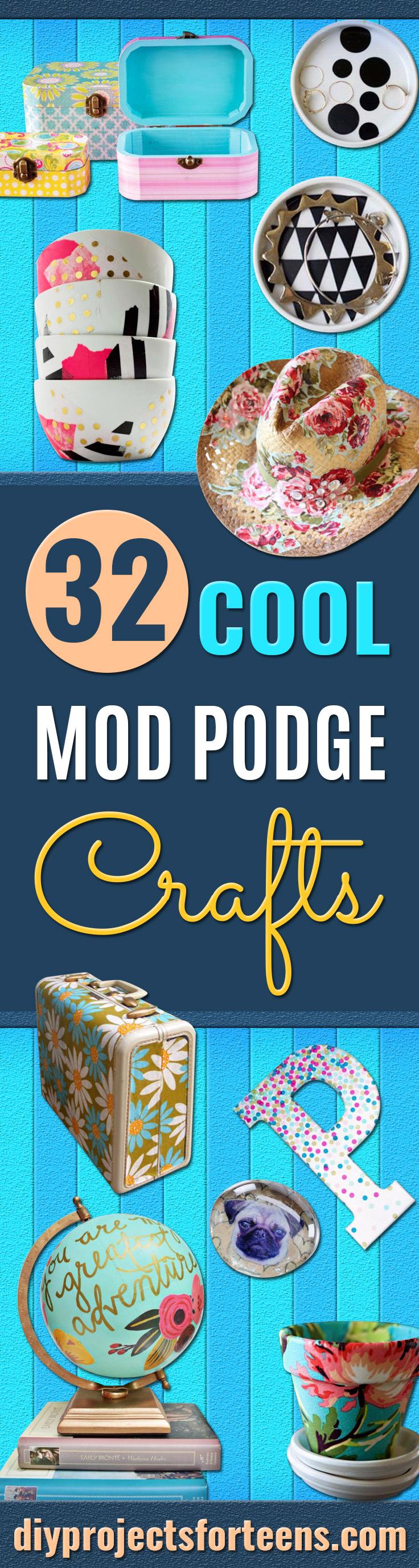 32 Mod Podge Crafts, mit denen Sie nicht falsch liegen können