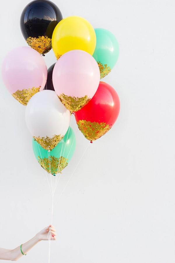 20 einfache DIY Silvester Dekorationen