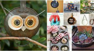 25 Repurposing Ideen für Töpfe und Pfannen, die einfach unglaublich sind