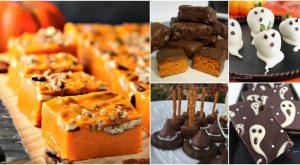 25 ghoulishly köstliche selbst gemachte Halloween-Süßigkeits-Rezepte