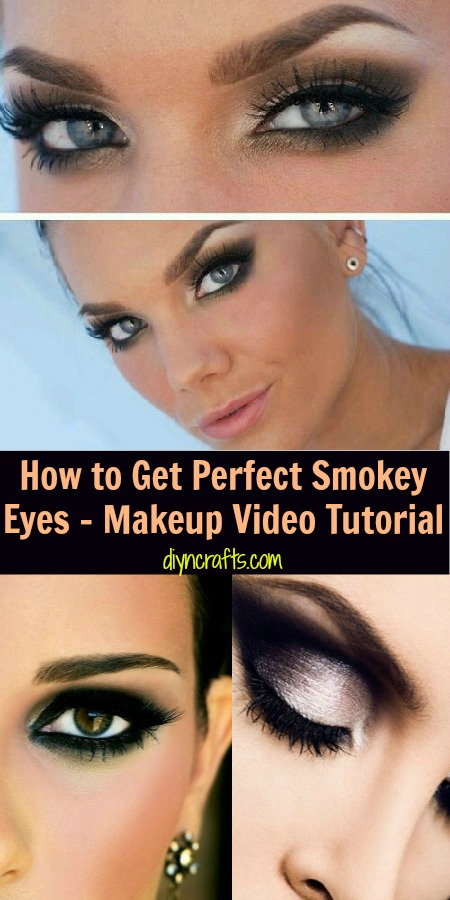 So erhalten Sie perfekte Smokey Eyes - Makeup Video Tutorial