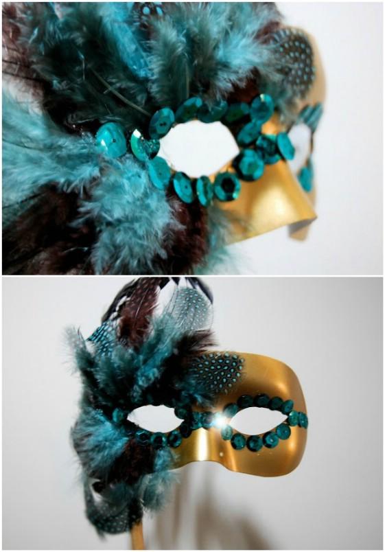20 einfache und kreative DIY Halloween Masken für Kinder und Erwachsene