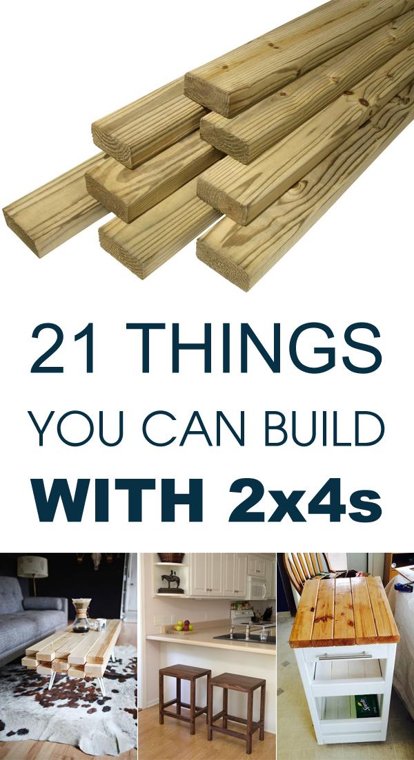 21 Dinge, die du mit 2x4s bauen kannst